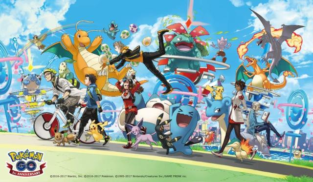 Happy Birthday Pokemon Go! Anniversary Event