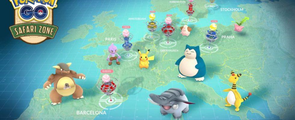 Pokemon GO Worldwide Events Detailed, Including New Safari Zone