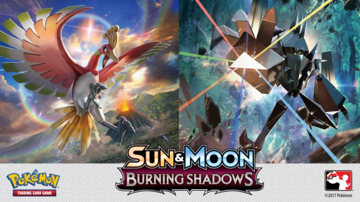 Pokemon Sun and Moon News TCG Burning Shadows Cards expansion released