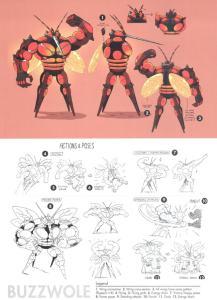 Pokémon Sole e Luna concept Ultracreature 2