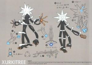 Pokémon Sole e Luna concept Ultracreature 4