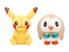 Prodotti Pokemon Center - linea jappo peluche pikachu rowlet