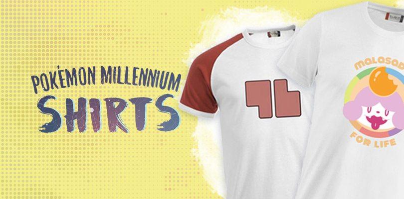 spesso Pokémon Millennium lancia la sua prima collezione di magliette  PL49