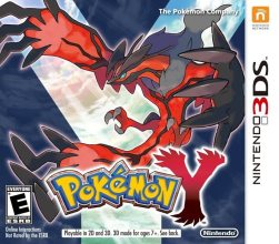 Pokémon Y Cover