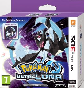 Pokemon Ultraluna steelbook