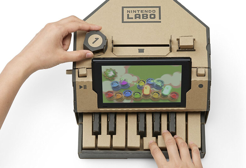Nintendo Labo: La durata delle componenti è parte del divertimento!