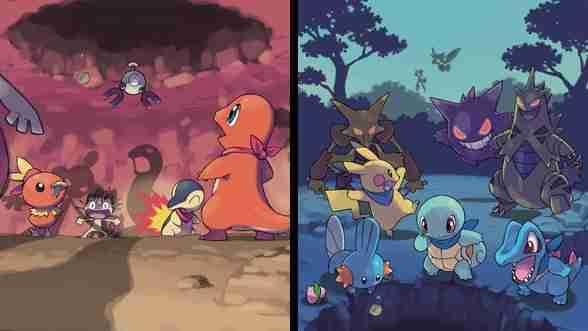 Pokémon Mystery Dungeon: Red Rescue Team & Blue Rescue Team Remake