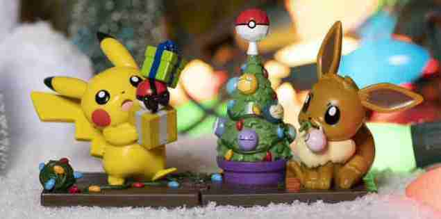 The Pokemon Center US have released a special Christmas Funko Collection!