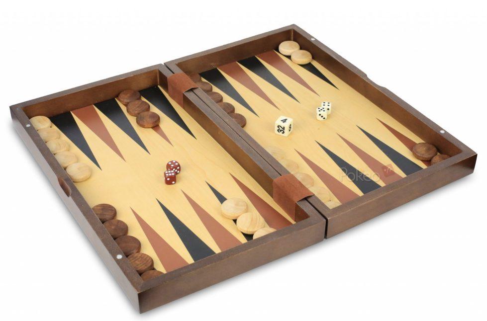 Backgammon Melos 35cm
