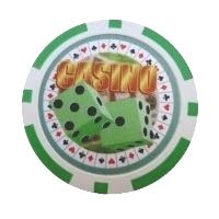 Casino Dice grön