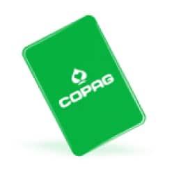 Copag cut card - Grön