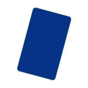 Cut Card - Bridge size (blå)