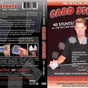 The Official Poker, Vol. 2: Card Stunts