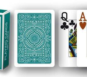 Modiano Texas Poker Hold'em - Grön