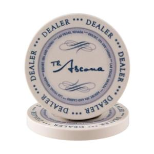 The Ascona dealer button