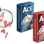 Kortlek: ACE Extra Visible - Röd