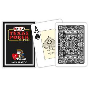 Modiano Texas Poker Hold'em - SVart