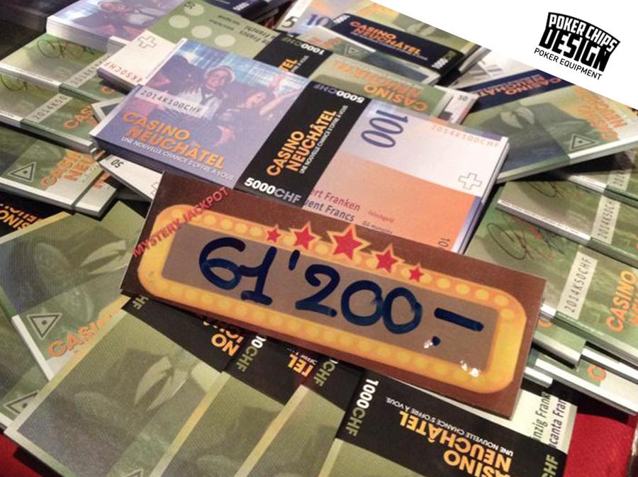 Billets Factices Pour Le Casino De Neuchtel Poker Chips