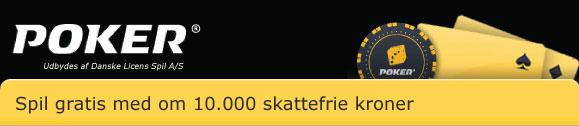 Gratis pokerturnering hver dag i december på Danske Spil Poker