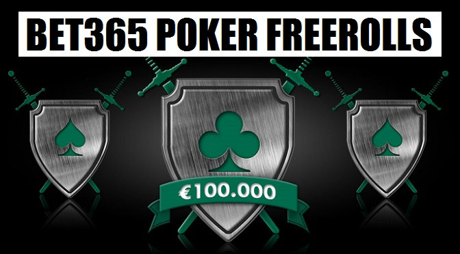Bet365 Poker EUR 100.000 Freeroll Battle i oktober!