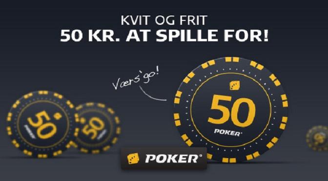 Dagens kode til Danske Spil Pokers freeroll, Søndagshyggeren!
