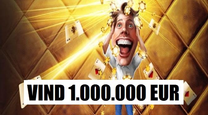 Vind 1.000.000 EUR på en hånd på Unibet Poker!