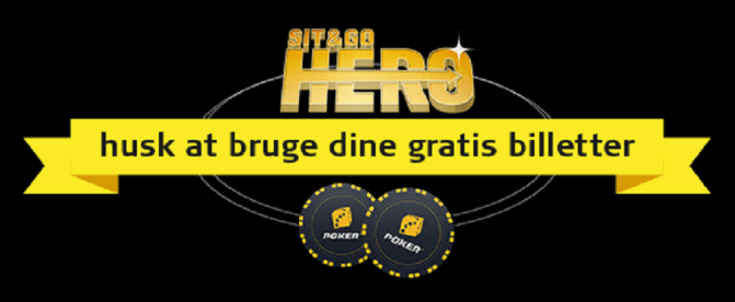 Spil Sit & Go Hero på Danske Spil Poker gratis
