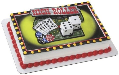 Highroller cake