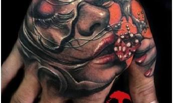 Kissing Dice Tattoo