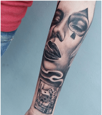 Lust Of The Game Tattoo