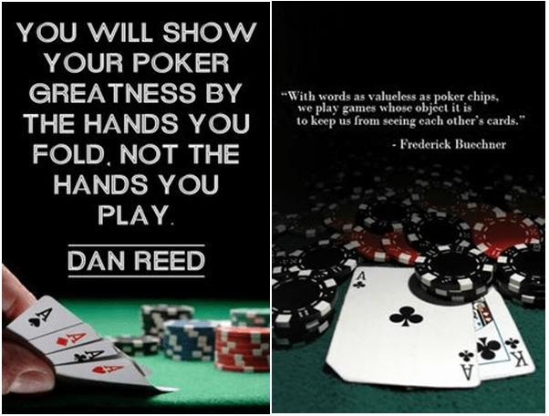 Poker Quotes