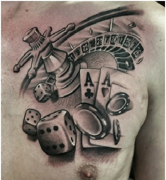 Tattoo In Chest