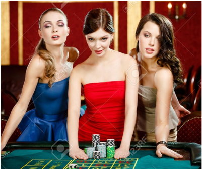 Women Love Playing Roulette