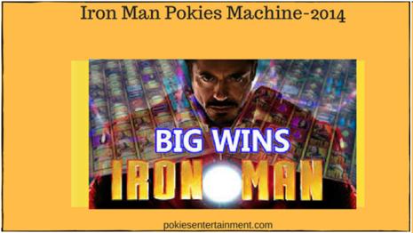 Iron Man pokies