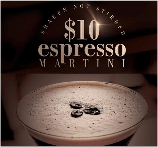 $10 martini