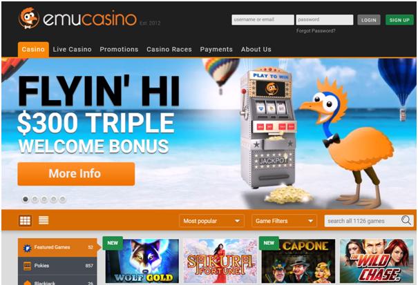 Emu Casino Online