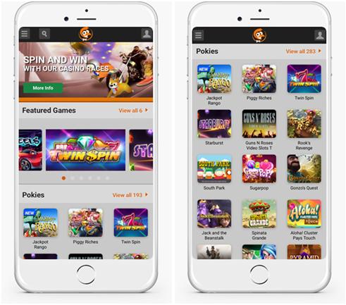Emu Casino App