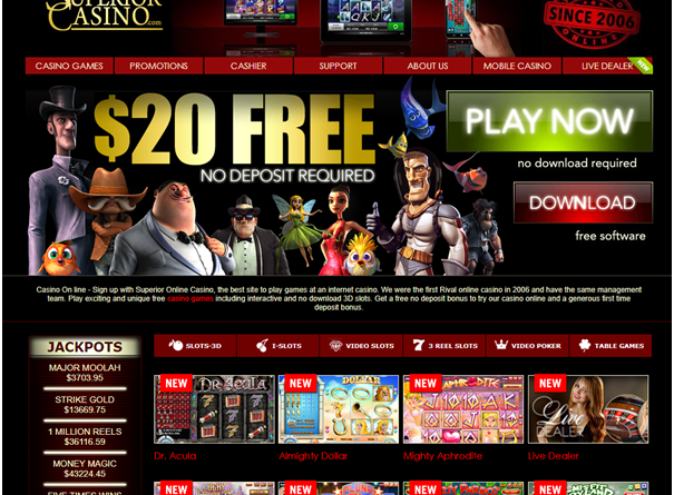 Superior Casino Pokies entertainment