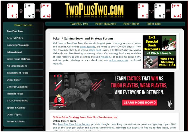 TwoPlusTwo PokerCast