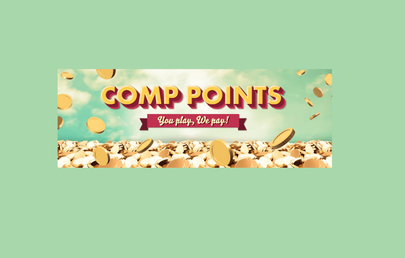Can you convert comp points into cash on all casino games?