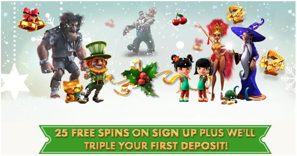 7 reels Casino - Bonuses