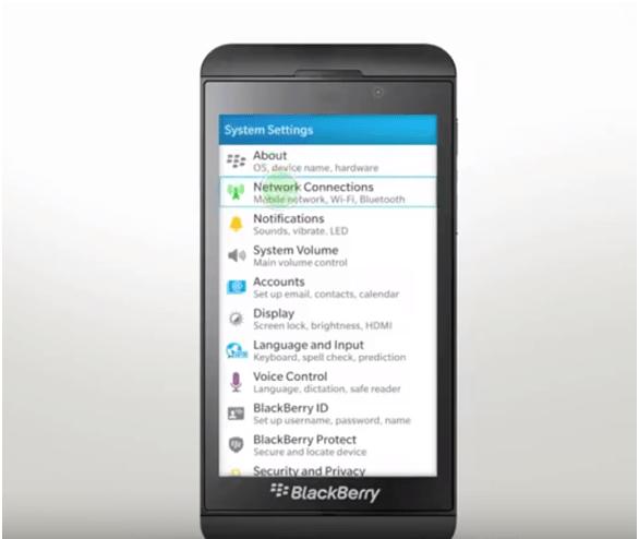 Blackberry 10 hotspot