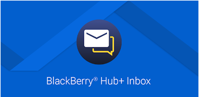 How to get connected with the BlackBerry Hub+ Inbox?
