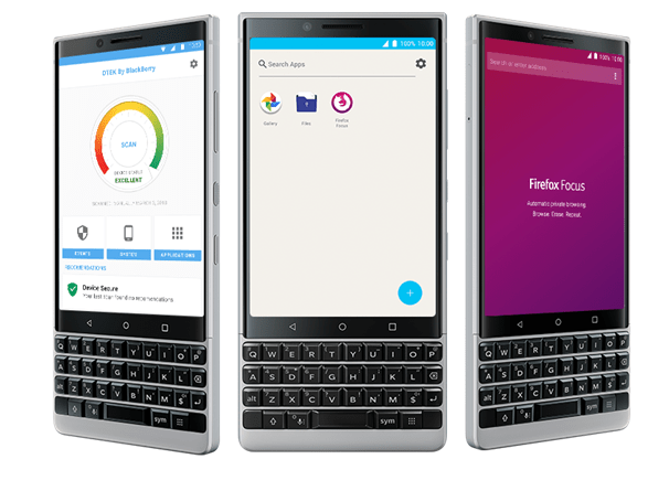 Blackberry Key Two Features