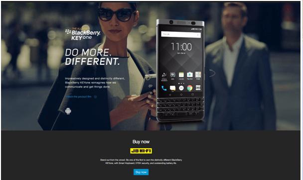 Blackberry Keyone phone - Where to buy in Australia