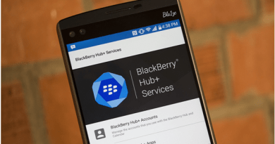 Blackberry hub updates 2019