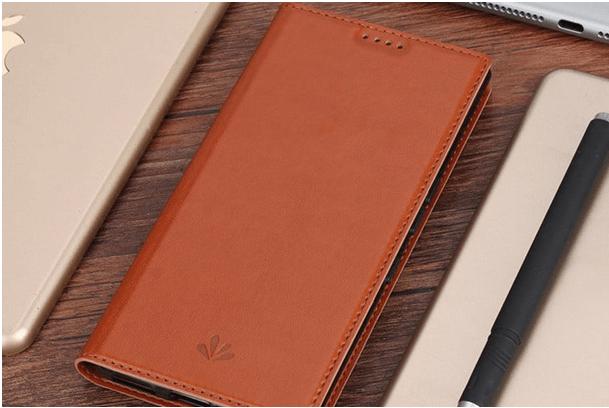 Blackberry keyone smartphone- Feitenn PU Leather Wallet Case