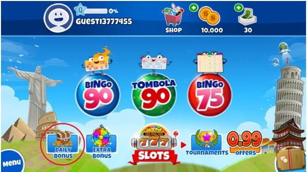 Features of Loco Bingo