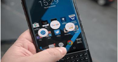 How to customize Blackberry Swipe Shortcuts