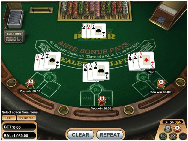 How to play Triple Edge Poker